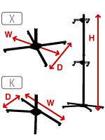 Setup Dimensions